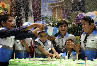 پنجاهمین جشن کودکان آسمانی