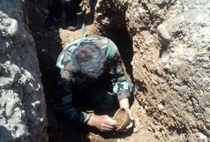 کشف گور 3 هزارساله در منطقه چیتاب کهگیلویه و بویراحمد