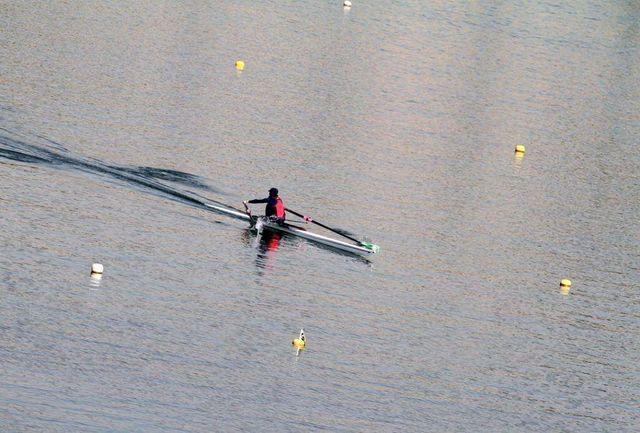 کسب نشان نقره بانوی قایقران کردستانی در رقابت های قهرمانی روئینگ کشور