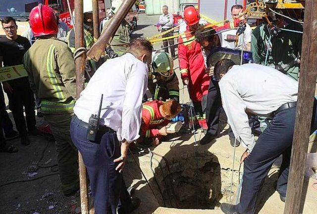 مرگ مقنی ۵۵ ساله در چاه