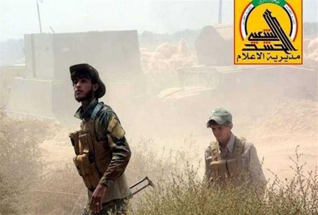 عملیات الحشد الشعبی در مرز عراق با عربستان