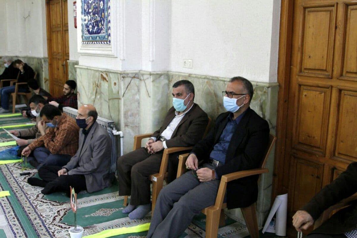 برگزاری نماز جمعه با رعایت کامل بهداشت در مازندران