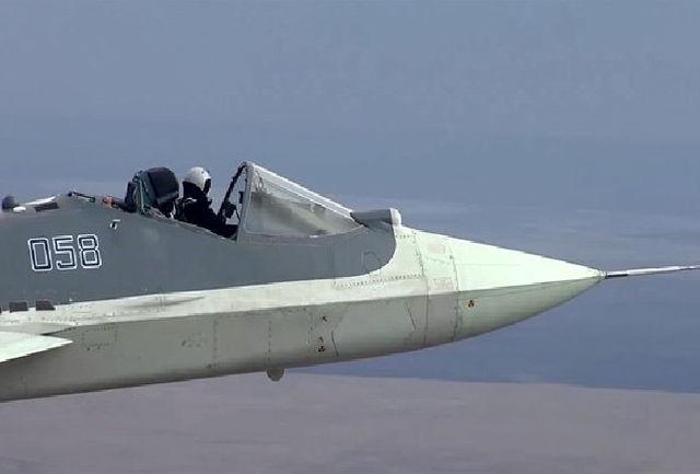 پرواز شجاعانه خلبان جنگنده رادارگریز با کابین باز+عکس
