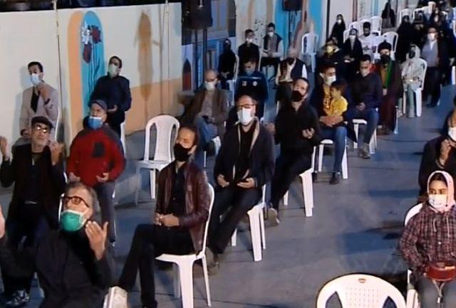 مراسم شب های احیا در قزوین برگزار شد