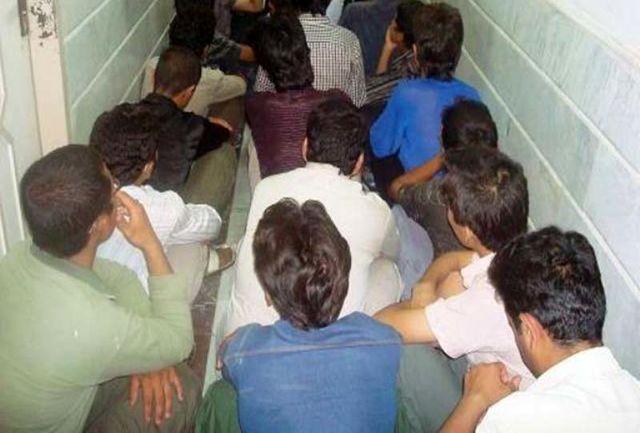 22 معتاد متجاهر و خرده فروش در ایرانشهر دستگیر شدند