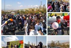 برگزاری راهپیمایی خانوادگی بمناسبت هفته تربیت بدنی در پردیس