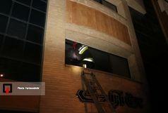 نجات 15 تن از حریق خیابان شیخ صدوق
