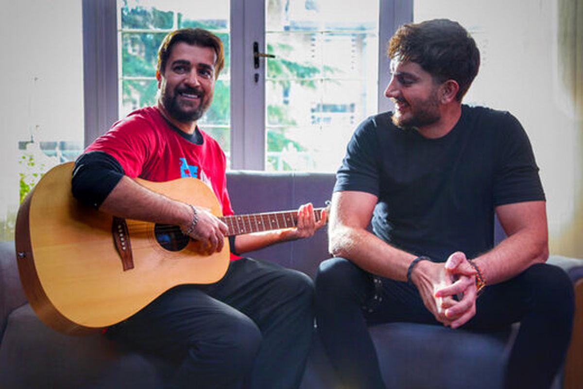«آهنگ دو نفره» فرزاد فرزین و احمد مهرانفر