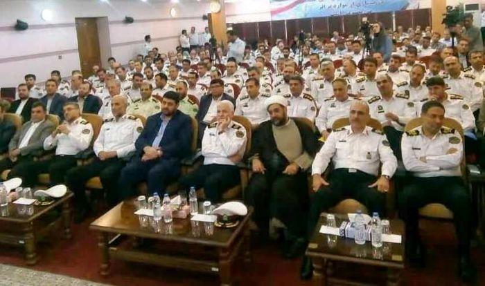 معرفی شدن فرمانده جدید پلیس راه