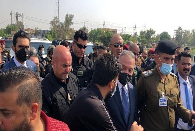 نخستوزیر عراق با تظاهرکنندگان ناصریه دیدار کرد