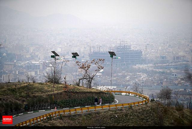 هشدار آلودگی هوا در 8 کلان شهر و توصیه به بیماران ریوی