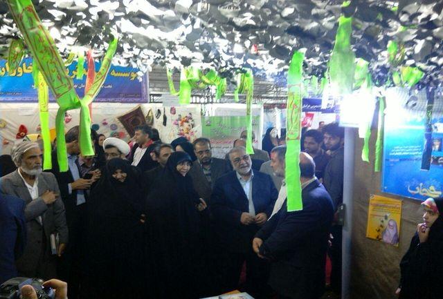 نمایشگاه گل یاس در خراسان جنوبی افتتاح شد
