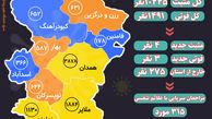 آخرین و جدیدترین آمار کرونایی استان همدان تا 18 بهمن 99
