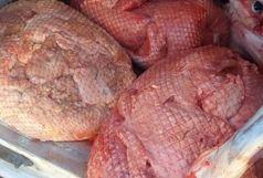 کشف 400 کیلوگرم گوشت خارجی قاچاق در رضوانشهر