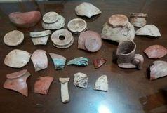 کشف سفالهای دوره ساسانی در شهرستان ورامین