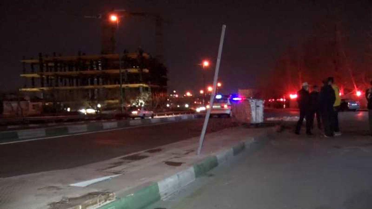 تصادف اتوبوس و تریلی با هفده کشته و زخمی
