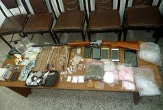 انهدام باند قاچاق موادمخدر