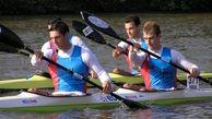 تیم ملی آبهای آرام بانوان رده سنی جوانان به آب میزند