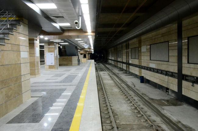 حادثه در پروژه مترو و مصدومیت یک نفر