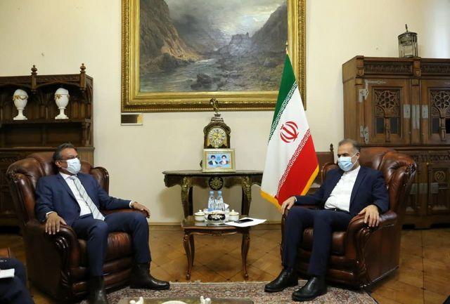 ملاقات سفیر ایران با سفیر سنگاپور در روسیه