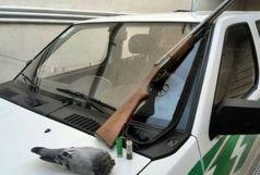 متخلفین شکار پرنده در ازنا دستگیر شدند