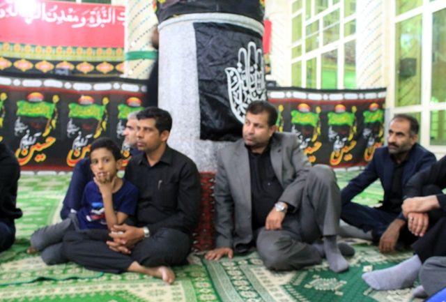 حضور سرپرست و مسئولین اداره کل آموزش فنی و حرفه ای هرمزگان در مسجد