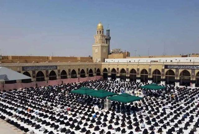 نماز جمعه در مسجد کوفه برگزار شد