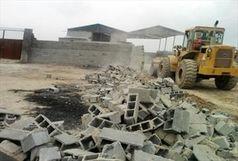 تخریب 90 باغ ویلای غیر مجاز در مشهد