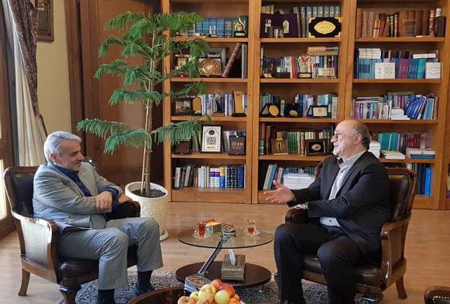 دیدار مشترک استاندار البرز با دکتر نوبخت