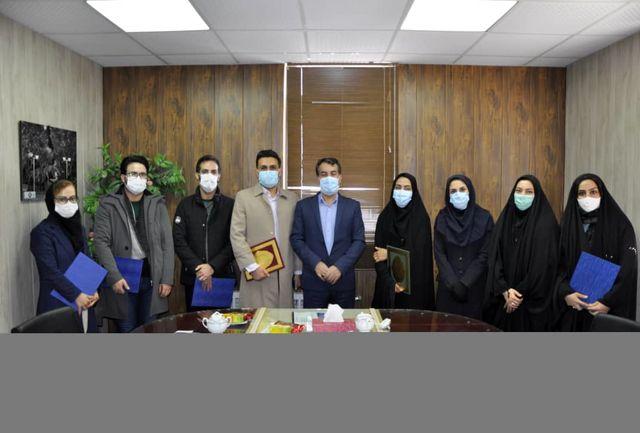 مربیان و فعالان ورزش همگانی در شهرستان آوج تجلیل شدند