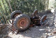 واژگونی تراکتور باعث مرگ راننده شد