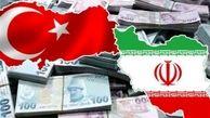 کاهش 72 درصدی تجارت کالایی ایران و ترکیه