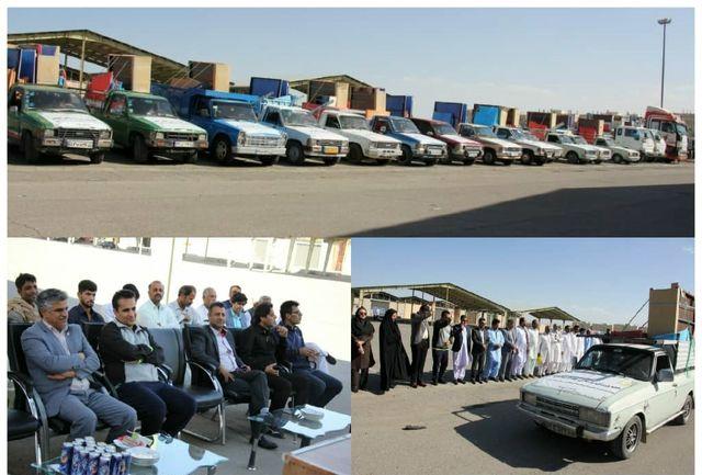 هشتمین کاروان امید و نشاط با تجهیز 40 خانه ورزش روستایی سیستان و بلوچستان کلید خورد