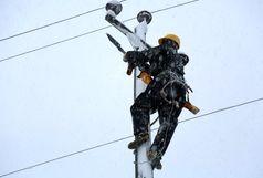 آمادگی شرکت توزیع برق گیلان در مقابل بحران برف