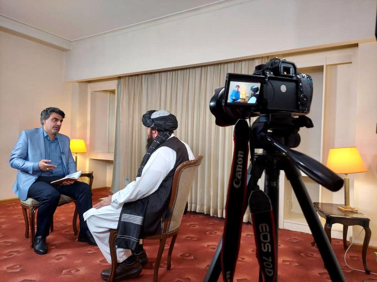 گفتوگوی صریح و چالشی پرس تیوی با عضو ارشد طالبان