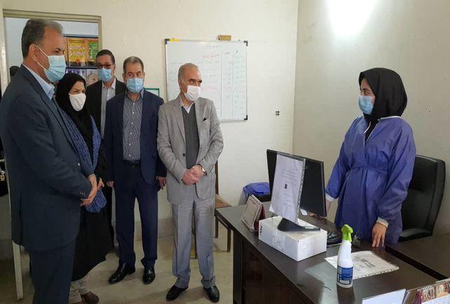 تجلیل مسئولان شهرستان پردیس از کادر درمان