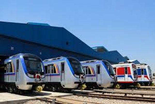 ۳ رام قطار جدید به مترو تهران افزوده شد