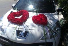 ماشین عروس 34 نفر را مصدوم کرد