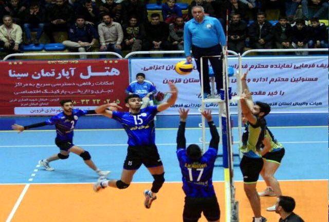 برتری شهرداری قزوین برابر کاشی کاژه کرمانشاه