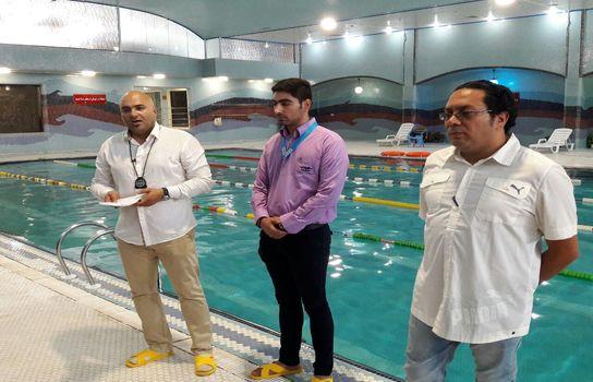اولین جشنواره استعدادیابی شنای فرزندان کارگران
