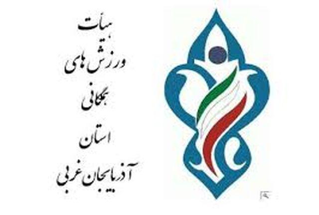 خورشیدی رئیس هیئت ورزش های همگانی آذربایجان غربی شد