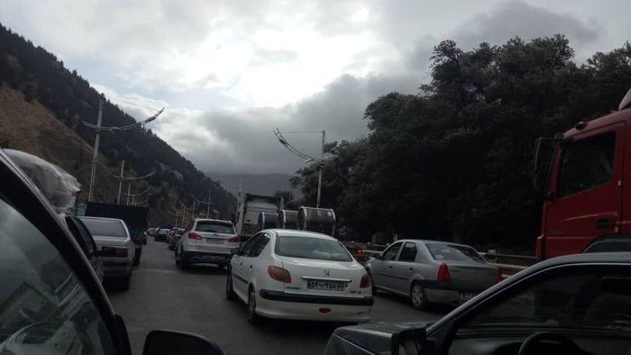 ترافیک سنگین در هراز و کندوان/ چالوس یکطرفه میشود