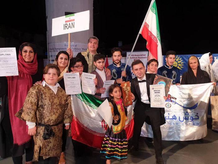 ارکستر موسیقی ایرانی طلا گرفت