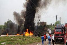 تخلیه ۳ روستای بخش مرکزی/ آتش سوزی مهار شد