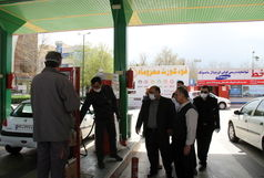 پلمپ یک جایگاه سوخت در قزوین