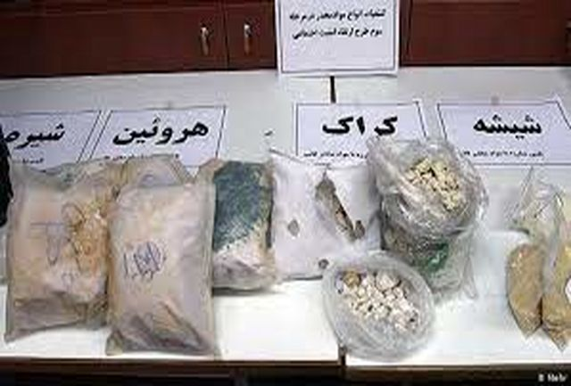 کشفیات مواد مخدر در زنجان ۱۵ درصد رشد دارد