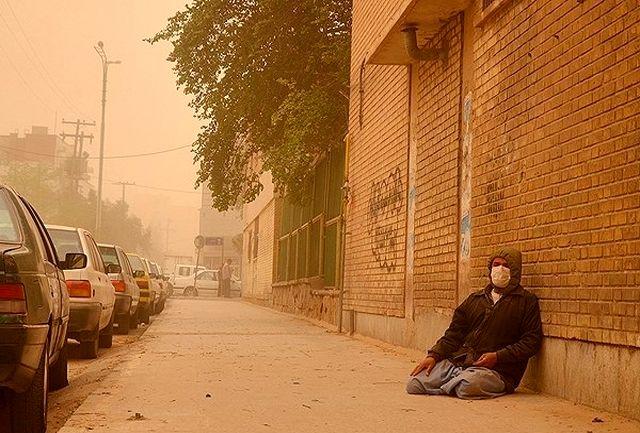 نتیجه تصویری برای خوزستان غبارآلود