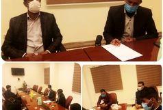 جلسه هماندیشی فوتبالیها در رودبار جنوب