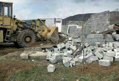 تخریب 73بنای غیرمجاز در نیمه نخست امسال