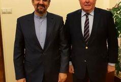 ملاقات «مهدی سنایی» با معاون وزیر خارجه روسیه